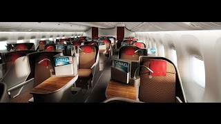 Garuda Indonesia Business Class | London Heathrow to Jakarta