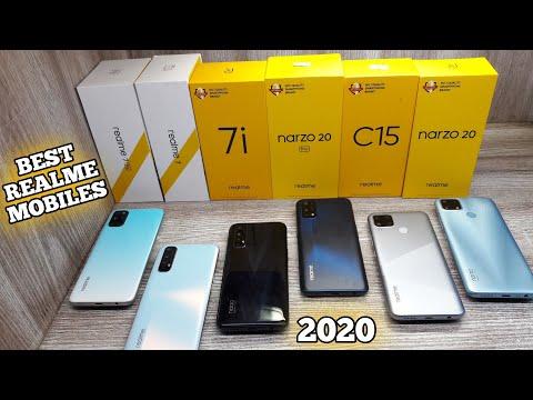Best Budget Mobiles of Realme - November 2020