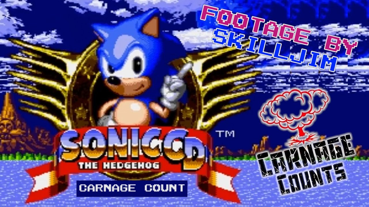 Sonic CD | Sega CD (1993) Carnage Count