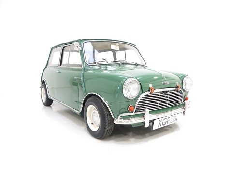 Fabulous Mk1 Austin Mini-Cooper Converted to Cooper 'S' Specification when New - SOLD!