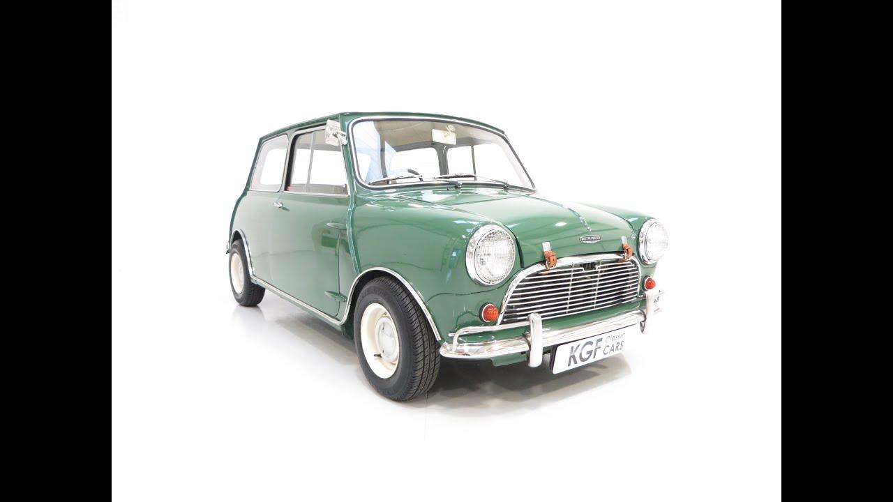 Fabulous Mk1 Austin Mini Cooper Converted To Cooper S