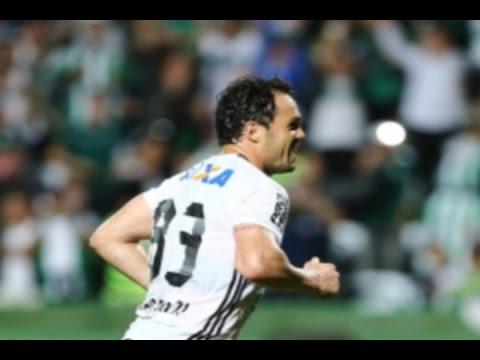 GOLAÇO! Raphael Veiga, Coritiba 2 x 0 Atlético-MG - Série A 06/11/2016