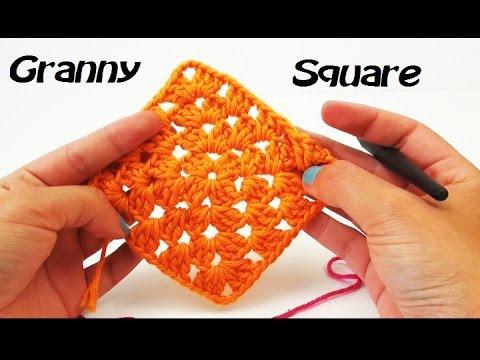 Granny Square Häkeln Häkeln Für Anfänger Granny Square Häkeln