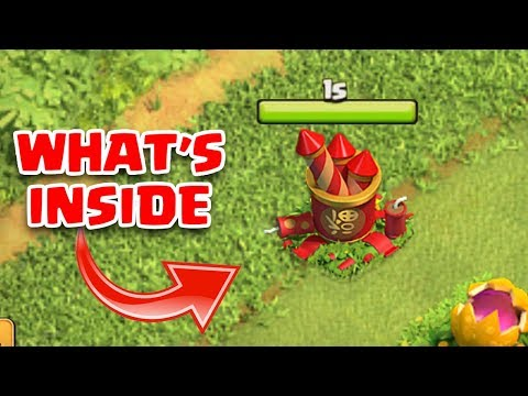 WHAT HAPPENS WHEN U REMOVE FIREWORKS STASH IN CLASH OF CLANS | COC FEBRUARY UPDATE 2018 |