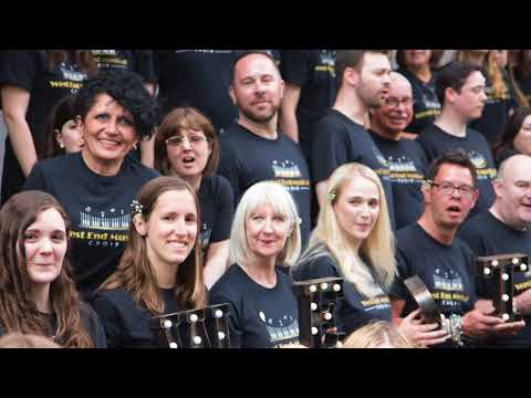RHS Chelsea Flower Show - West End Musical Choir