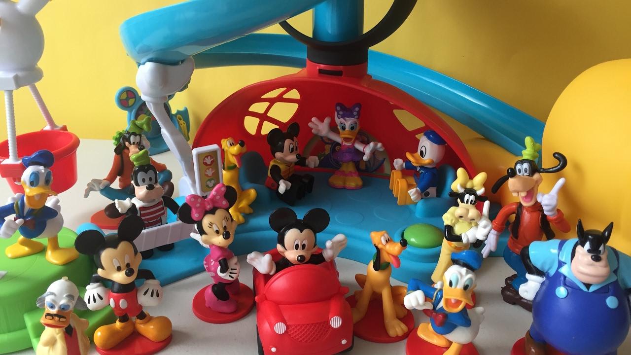 Mickey Y Sus Amigos Juguetes De Mickey Mouse Mickey