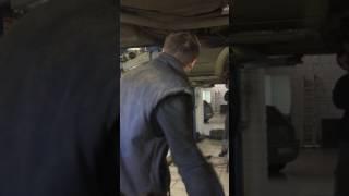 Снятие сайлентблоков заднего продольного рычага на лансер 9