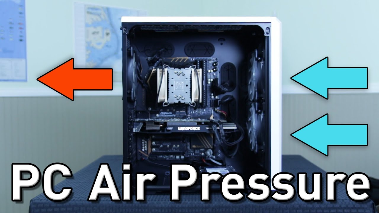 how to create positive air pressure in a room