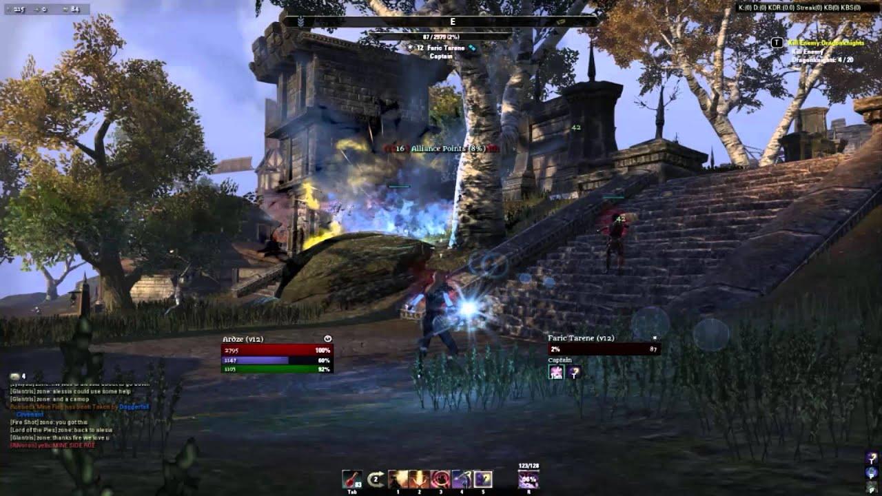 The Elder Scrolls Online - How to farm Alliance Points for a Sorcerer