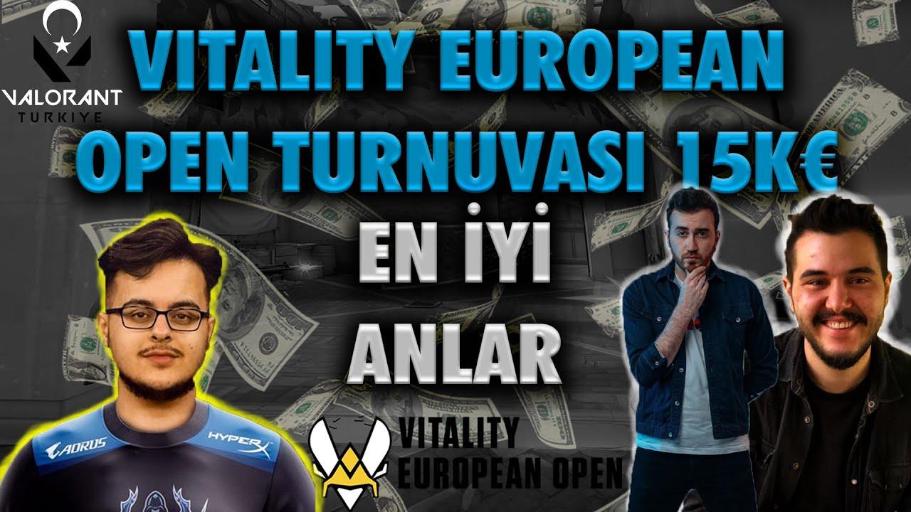 Vitality EU OPEN Turnuvası 15K€ TÜRK YAYINCILARIN EN İYİ ANLARI (Wtcn,Rogu,m1tez)