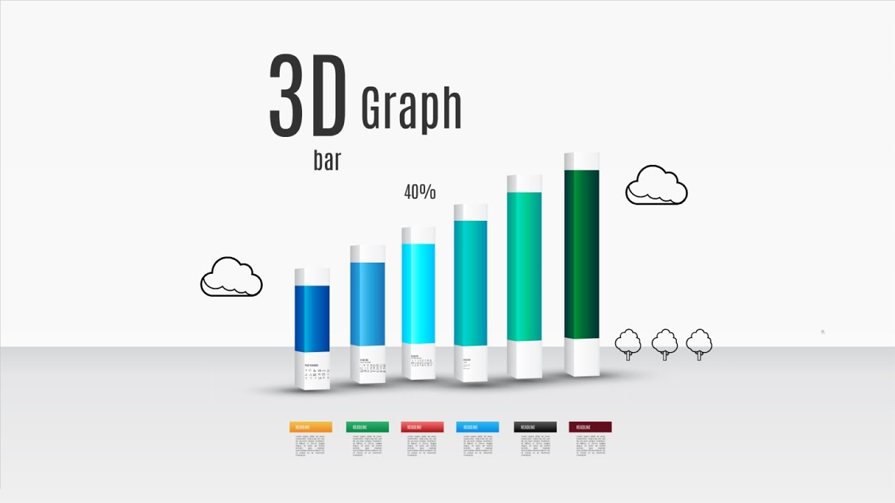 3d bar graph in c++ graphic ,youtube