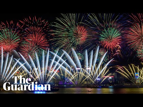 Asia and Australia usher in new year with huge firework displays