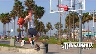 Dunk Session @ Venice Beach! Chris Staples, Nick Briz, Zeus Video