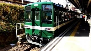 東武亀戸線8000系・試験塗装リバイバルカラー「曳舟行き」@亀戸駅到着