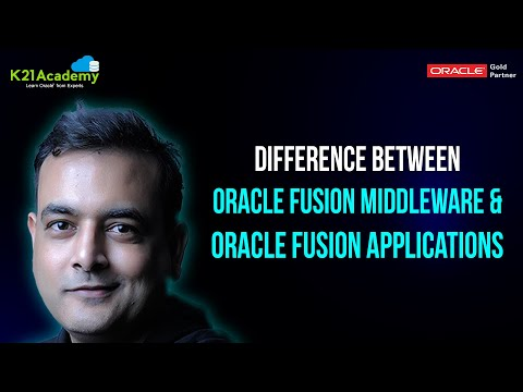 What is difference between Oracle Fusion Middleware ( FMW ) & Oracle Fusion Applications ( OFA )  ?