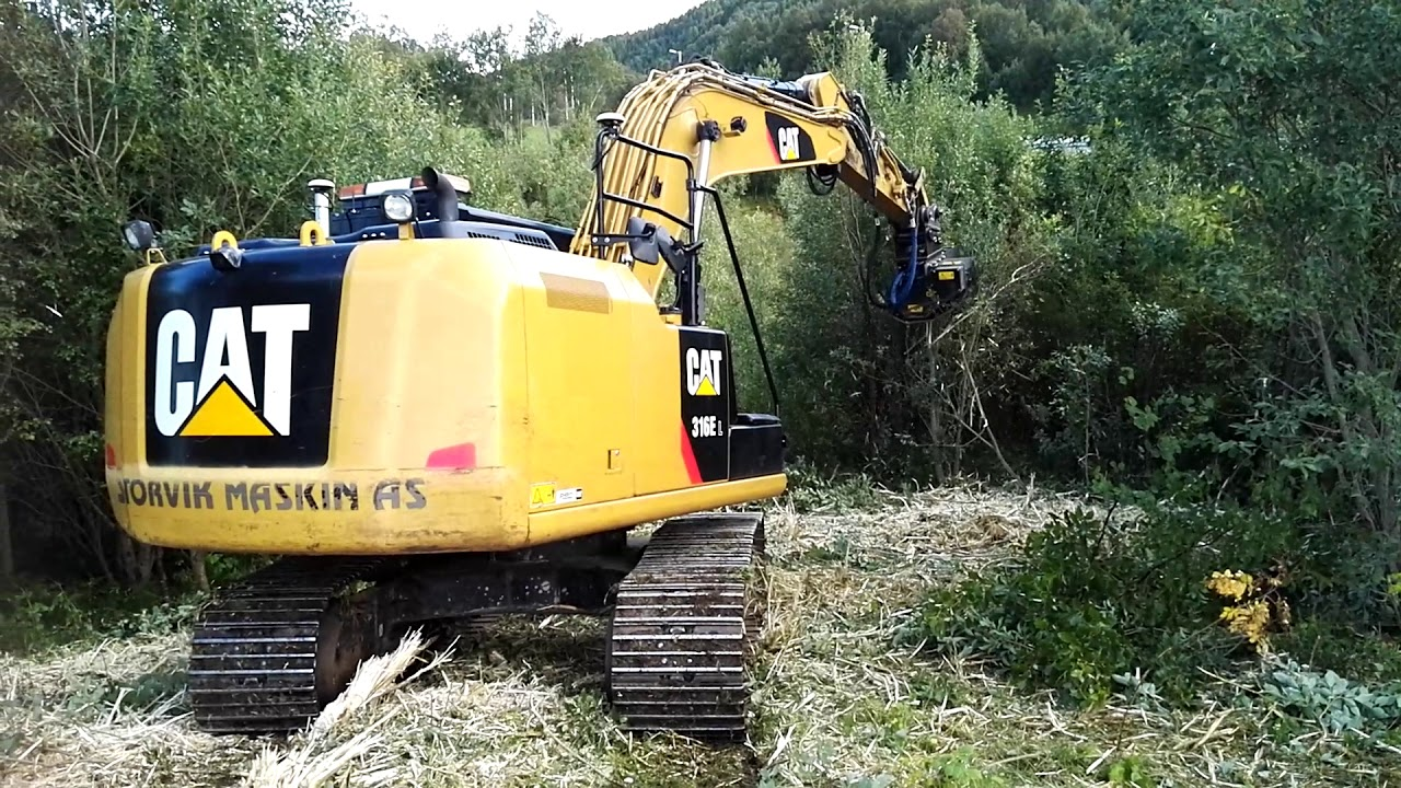 maxresdefault gf gordini excavator forestry mulcher tfx 140 cat 316e youtube Caterpillar 586C Forestry Mulcher at reclaimingppi.co