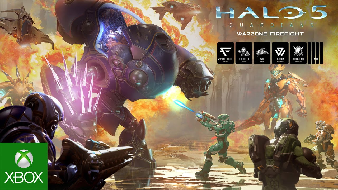 Warzone Firefight now available in Halo 5: Guardians