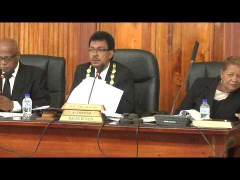 San Fernando City Corp. Statutory Meeting - June 24. 2014 - Trinidad & Tobago