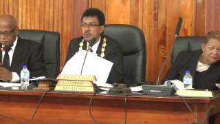 San Fernando City Corp. Statutory Meeting - June 24. 2014 - Trinidad & Tobago