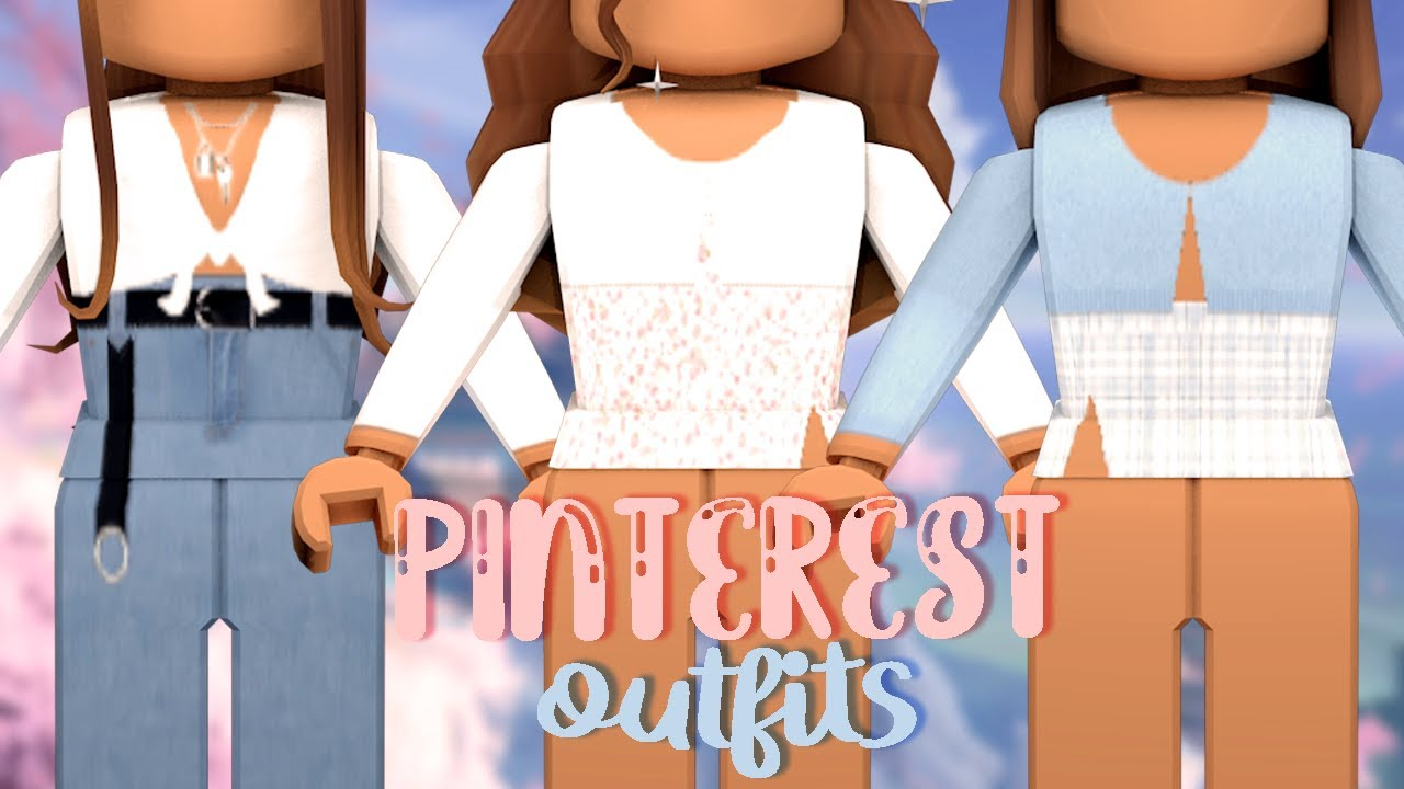 Cute Aesthetic Roblox Girl Outfits Cheap 5 Aesthetic Pinterest Outfits For Girls Roblox Bellarosegames Youtube