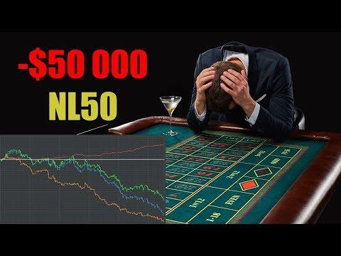 Игрок проиграл $50 000 в покер на NL50