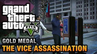 GTA 5 - Mission #42 - The Vice Assassination [100% Gold Medal Walkthrough]