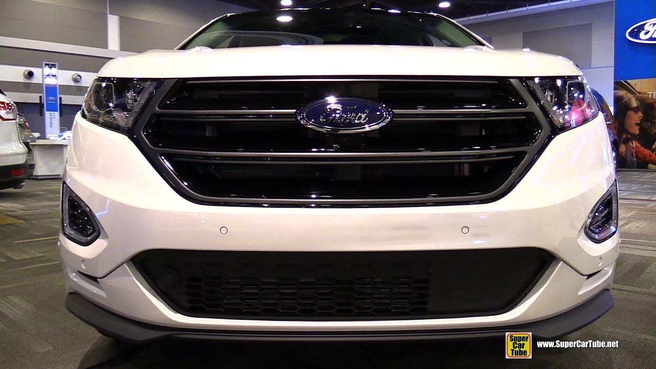Great 2015 Ford Edge Sport EcoBoost AWD   Exterior And Interior Walkaround  2015  Ottawa Gatineau Auto Show   YouTube Nice Design