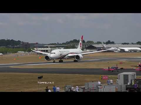 Boeing 787 Scarily Impressive Take Off This is what test pilots do at Farnborough Airshow 2018