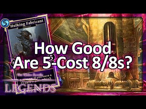 (TES: Legends) How Good Are 5-Cost 8/8s?