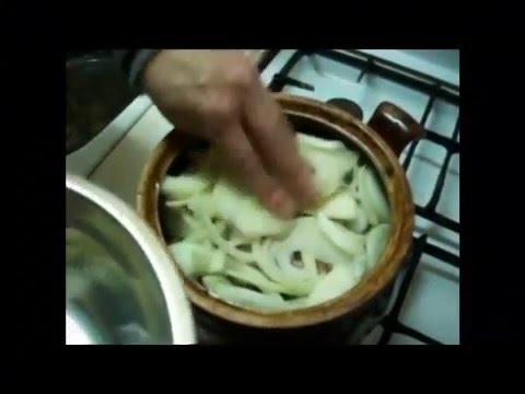 Кролик в сметане - пошаговый кулинарный рецепт с фото.