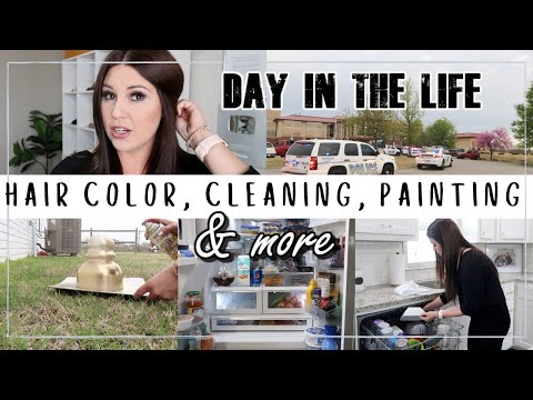 DAY IN THE LIFE 2020   STAY AT HOME MOM LIFE   ASHLEYandCHASE