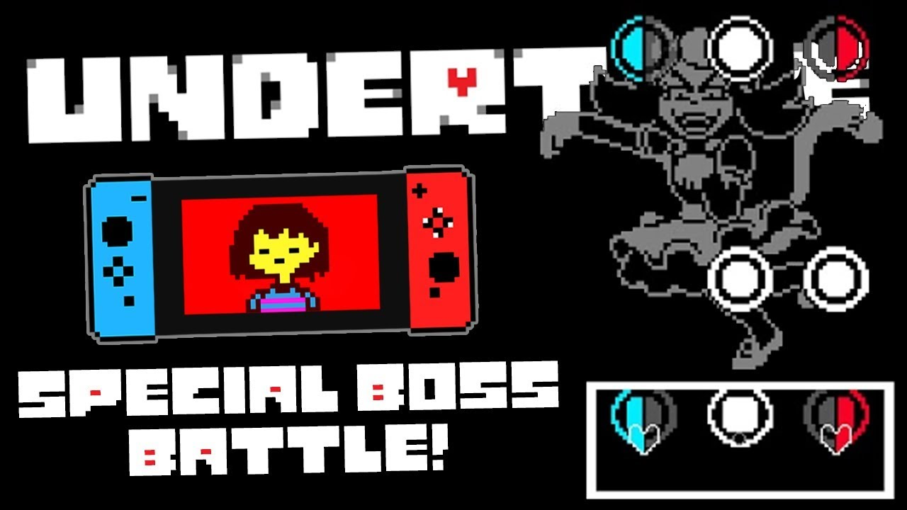 Download Undertale Mad Mew Mew Boss Fight (Nintendo Switch Exclusive!)