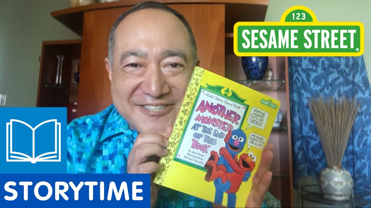 Sesame Street: Another Monster at the End of This Book | Story Time with Alan Muraoka