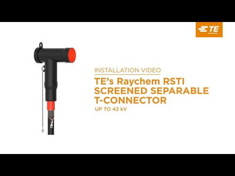 TE's Raychem Screened Separable Connectors: Connect Underground Cables To Electrical Equipment