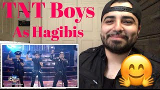 Reacting to my favorite boys TNT Boys Performance to Hagibis