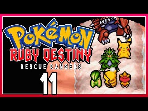 Pokemon Ruby Destiny 2 Rescue Rangers - Part 11 EVIL PIKACHU! Pokemon Rom Hack Walkthrough