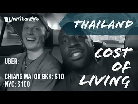 Cost of Living in Thailand for Digital Nomads 🌏  w/ Jubril of PassportHeavy | Chiang Mai & Bangkok