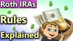 How Do Roth IRAs Work?(Roth IRA Rules Explained 2018) Roth IRA Tax Free Income!