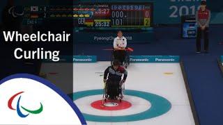 Wheelchair curling: Korea v Germany | Round Robin | PyeongC…