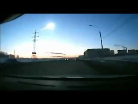 Russian meteor shower from various car dashboard cameras - DA14 Asteroid