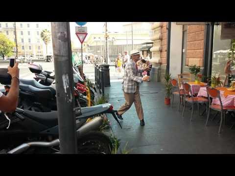 Italo Vegliante ballerino provetto a Via Ottaviano