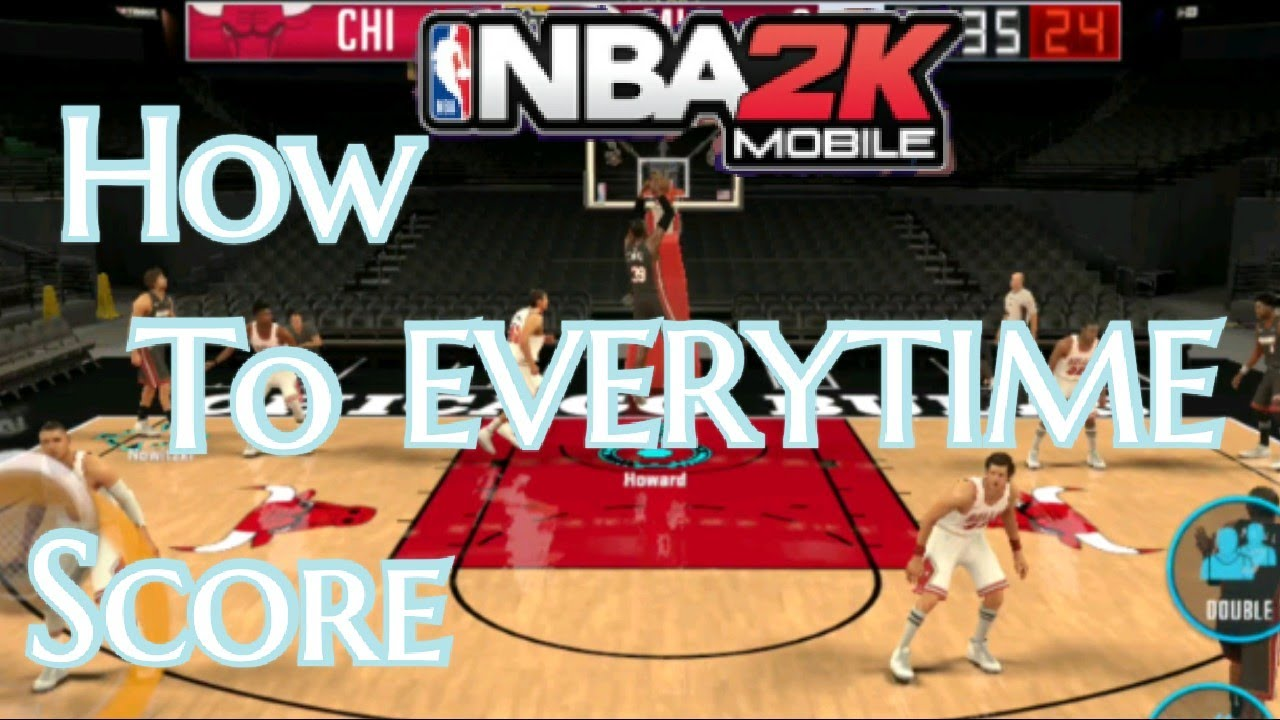 How To Score And Win Everytime - NBA 2K Mobile - YouTube