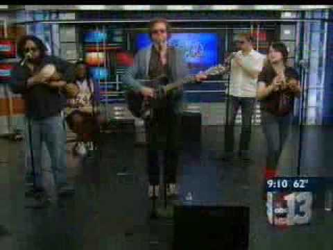 5/28/10 - KTNV_Rusted Root live in studio - Interview & Send Me On My Way