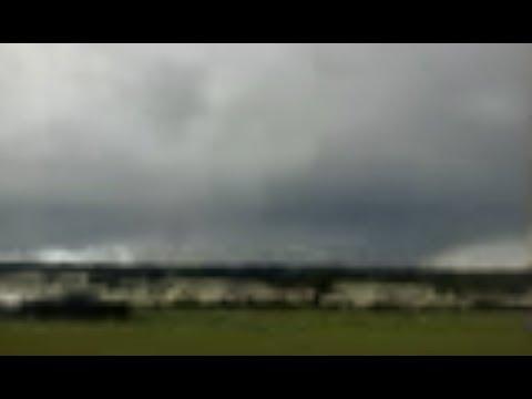 Lineman spots tornado in FL - Mexico Beach, FL Storm Surge from CAT4 Michael