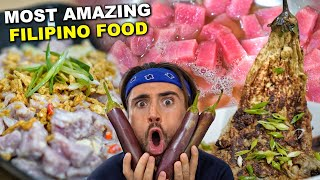 Canadian Cooks Coconut Kinilaw & Deep Fried Eggplant! | Raw Tuna Cooked with Spicy Vinegar 🇵🇭
