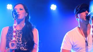 Thompson Square singing Glass Live