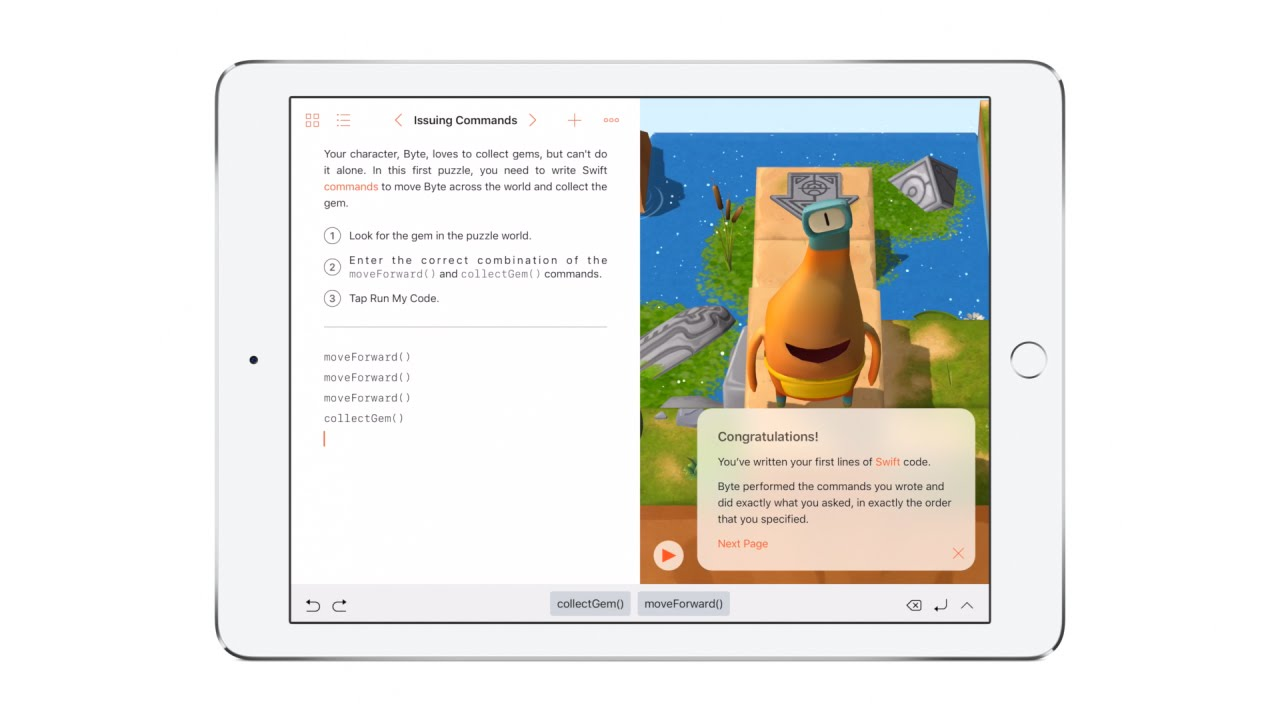 Why Apple Is Teaching Kids To Code On The iPad