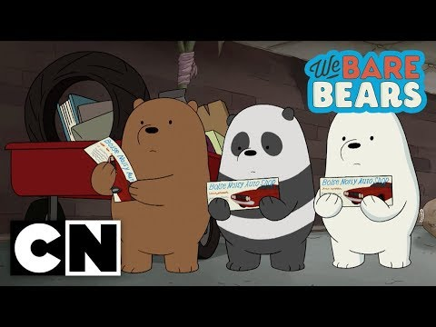 We Bare Bears | $100 (Clip 1) | Cartoon Network