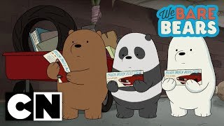 We Bare Bears | $100 (Clip 1) | Cartoon Network