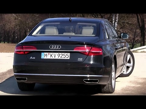 2016 Audi A8 3.0 TDI Quattro (262 HP) Test Drive | by TEST DRIVE FREAK
